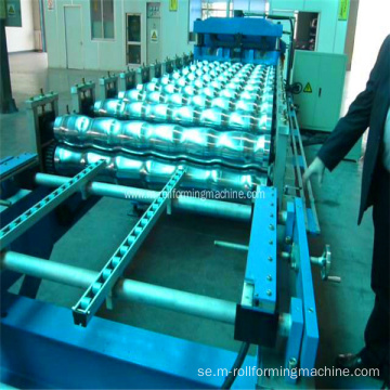 CE-korrugerad tak Making Machine